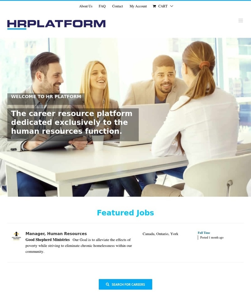 HR Platform - Creative Web Design 123 | WordPress Design Toronto